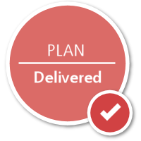 Plan | Delivered
